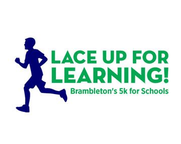 Lace Up for Learning Web Banner